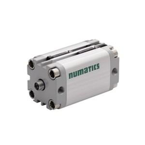 Asco Numatics Compact Cylinders and Actuators G449AMSG0025A00 Light Alloy DA Single Rod