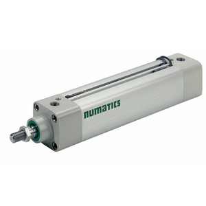 Asco Numatics Profiled Barrel Cylinder and Actuators G453A3SK0048A00 Light Alloy DA Single Rod