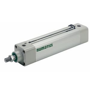 Asco Numatics Profiled Barrel Cylinder and Actuators G453A3SK0057A00 Light Alloy Double Acting