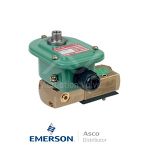 "0.25"" BSPP EMETG551A403MO Asco Numatics Process Automation Solenoid Valves Pilot Operated 115 VAC Stainless Steel"