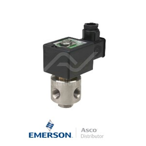 """0.125"""" NPT SCB320A140 Asco General Service Solenoid Valves Direct Acting 230 VAC Brass"""