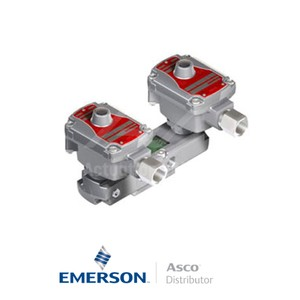 "0.25"" BSPP WSLPKFG551A310 Asco Process Automation Solenoid Valves Pilot Operated 24 VDC Brass"