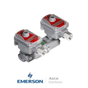 "0.25"" BSPP WSLPKFG551A310MO Asco Numatics Process Automation Solenoid Valves Pilot Operated 24 VDC Brass"