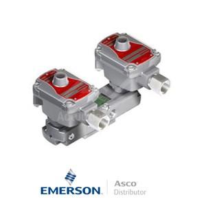 "0.25"" BSPP WSLPKFG551A310MO Asco Numatics Process Automation Solenoid Valves Pilot Operated 25 AC Brass"