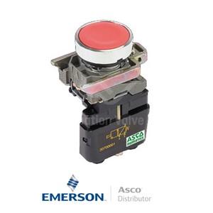 4 Push-In30701014 Asco Miniature Solenoid Valves Push Button Brass