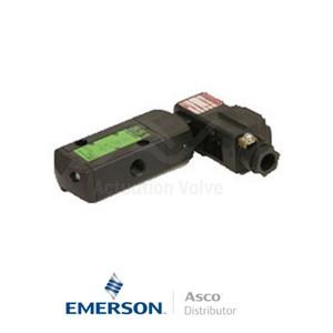 "0.25"" BSPP WBLPG551A005 Asco Numatics Process Automation Solenoid Valves Pilot Operated 24 VDC Light Alloy"