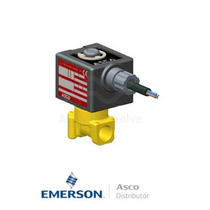 "0.25"" BSPP SCG262C202E Asco General Service Solenoid Valves Direct Acting 230 VAC Stainless Steel"