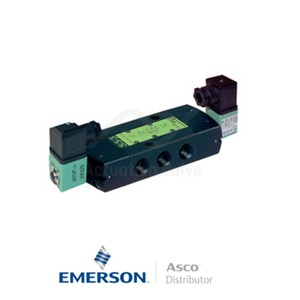 "0.25"" BSPP SCG551A018MS Asco Process Automation Solenoid Valves Pilot Operated 115 VAC Engineered Plastics"