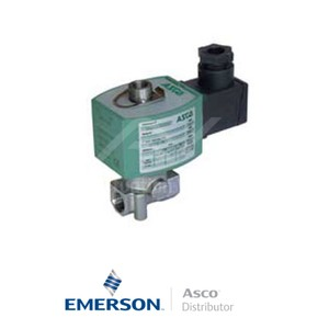 "0.25"" BSPP E314K068S1V00F1 Asco General Service Solenoid Valves Direct Acting 24 VDC Brass"