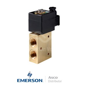 "0.5"" NPT SC8327A607 Asco General Service Solenoid Valves Direct Acting 24 VDC Stainless Steel"