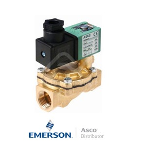 "1"" BSPP SCE238D010 Asco Numatics General Service Solenoid Valves Pilot Operated 48 DC Stainless Steel"