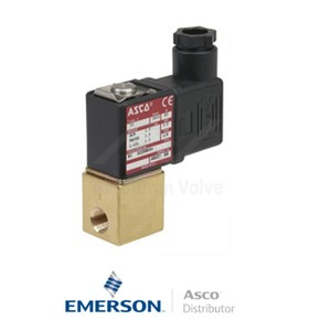 """0.125"""" BSPP PVG225B004V Asco Numatics General Service Solenoid Valves Direct Acting 24 VAC Stainless Steel"""