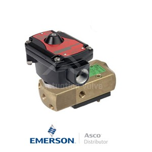 "0.25"" BSPP LPKFG551A303 Asco Process Automation Solenoid Valves Pilot Operated 115 VAC Stainless Steel"