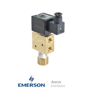 """0.25"""" NPT SCX8327B011 Asco General Service Solenoid Valves Direct Acting 115 VAC Stainless Steel"""
