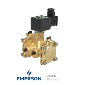 "0.375"" NPT SCB316A056 Asco General Service Solenoid Valves Pilot Operated 230 VAC Stainless Steel"