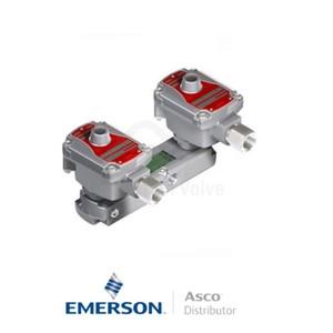 "0.25"" BSPP WSLPKFG551A322 Asco Numatics Process Automation Solenoid Valves Pilot Operated 115 VAC Brass"