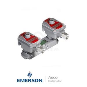 "0.25"" NPT WSLPKF8551A322MO Asco Process Automation Solenoid Valves Pilot Operated 24 VDC Brass"