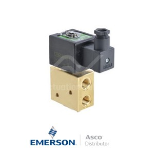 "0.25"" BSPP SCG327B011 Asco Numatics General Service Solenoid Valves Direct Acting 115 VAC Light Alloy"