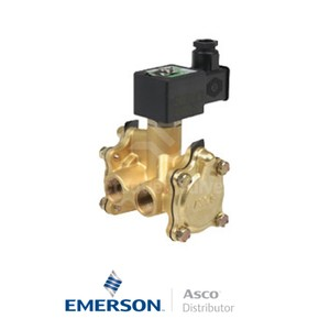 "0.5"" NPT SCB316D026 Asco General Service Solenoid Valves Pilot Operated 24 VDC Stainless Steel"