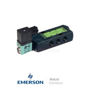 "0.25"" BSPP SCG551A017MS Asco Process Automation Solenoid Valves Pilot Operated 120 VAC Brass"