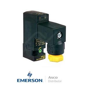 30212109--P Asco Numatics General Service Solenoid Valves Direct Acting 24 VDC Light Alloy