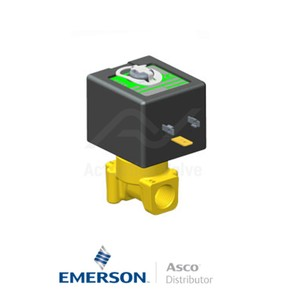"""0.25"""" BSPP PVG262C208 Asco General Service Solenoid Valves Direct Acting 230 VAC Stainless Steel"""