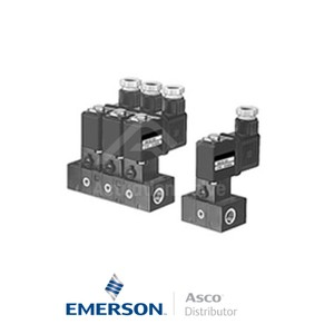 Barb 11000007 Asco General Service Solenoid Valves Direct Acting 24 VDC Light Alloy
