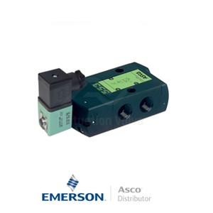 "0.5"" BSPP SCG553A001MS Asco Numatics Process Automation Solenoid Valves Pilot Operated 24 VDC Engineered Plastics"