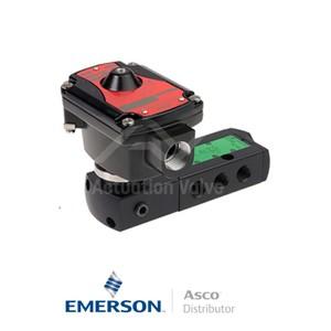 "0.25"" BSPP LPKFG551A391 Asco Process Automation Solenoid Valves Pilot Operated 24 VDC Light Alloy"