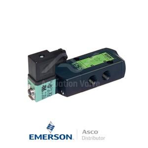 "0.25"" BSPP SCG551A005 Asco Numatics Process Automation Solenoid Valves Pilot Operated 24 VDC Light Alloy"