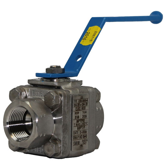 RB Starline Ball Valves Master Star F316 Stainless Steel Body Lever Op