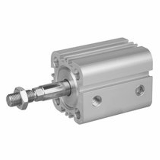 Aventics Pneumatics Compact Cylinder Series KPZ 0822493301 Single Acting extended without pressure