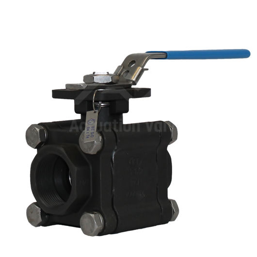 3PCE FB CS A216 WCB Heavy Duty Ball Valve Lever Operated ATEX Approved