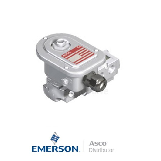 """0.25"""" BSPP WSETG551A309SL Asco Process Automation Solenoid Valves Pilot Operated 24 VDC Brass"""
