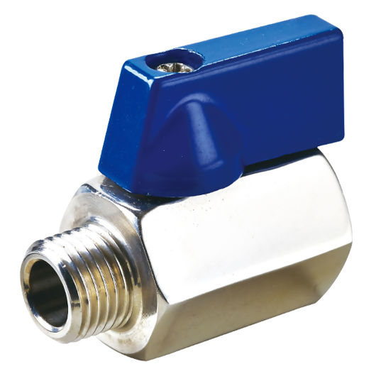 Screwed Stainless Steel Ball Valves Reduced Bore MXF Butterfly Handle