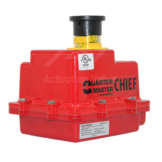 Asahi B92 Quarter Turn Electric Actuators ISO Direct Mount & Override