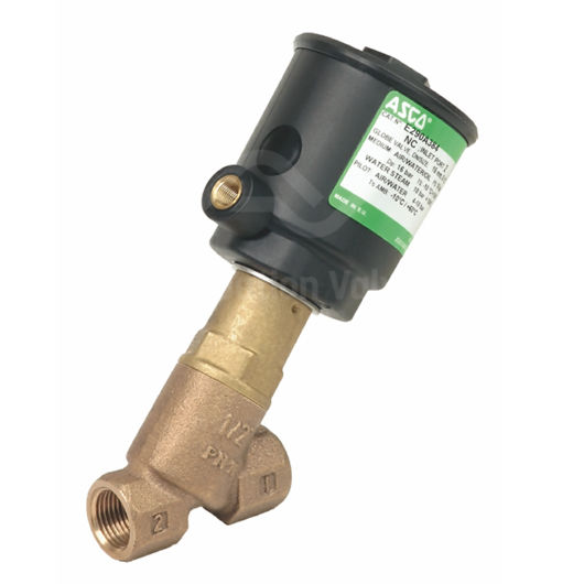 "1/2"" Asco Pressure Operated Valves E290A384 Bronze 2/2 Normally Closed"