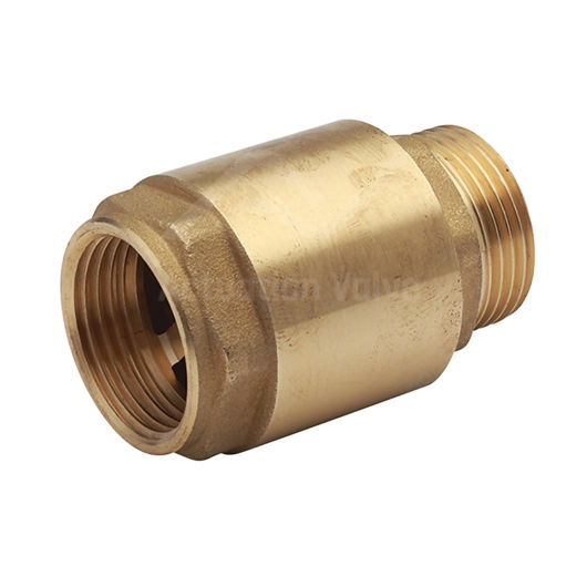 Brass Body Spring Check Valve BSPP Male Female Flow Options NBR Gasket