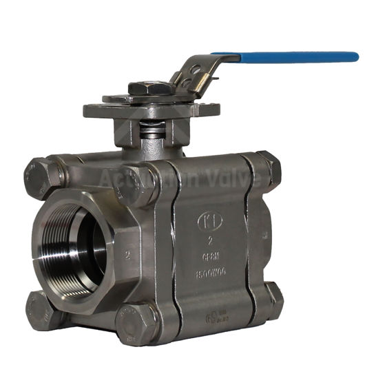 Stainless Steel Welded Full Bore Heavy Duty Ball Valves Lever Operated