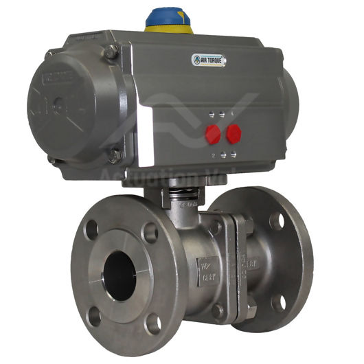 High Pressure Ss Pneumatic Air Actuated Water Ball Valve