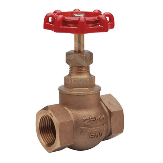 Integral PTFE Seat Bronze Globe Valves Screwed Cast Handwheel SDNR