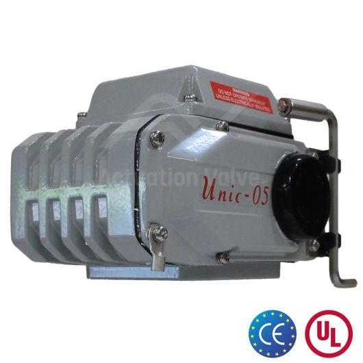 Koei Unic Electric Actuators Manual Override Enamel Coated