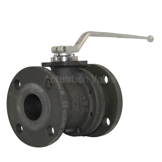 Low Temperature Carbon Steel Pekos Ball Valves ANSI 300RF FB PED