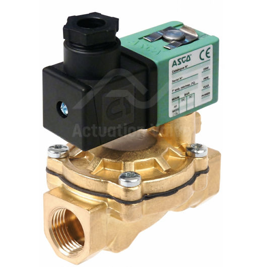"3/4"" Asco Solenoid Valves SCG238A048 Brass BSPP 2/2 Normally Closed"
