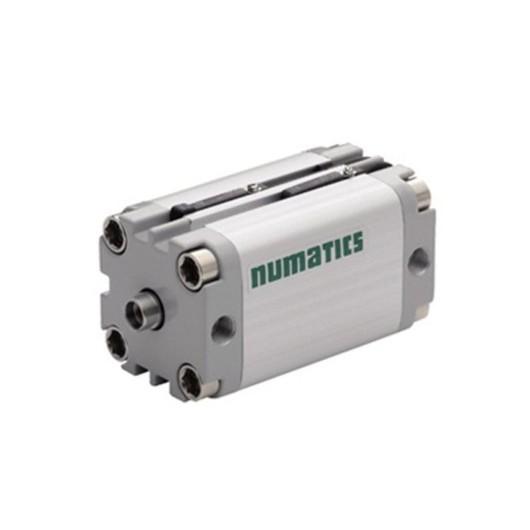 Asco Numatics Compact Cylinders and Actuators G449A4SK0027A00 Light Alloy DA Single Rod