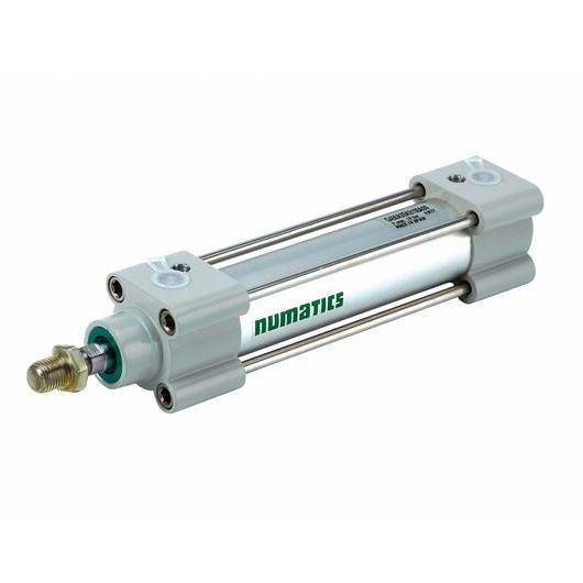 Numatics ISO Standard Cylinders Cylinders and Actuators G450A1SK0824A00 Light Alloy DA Single Rod
