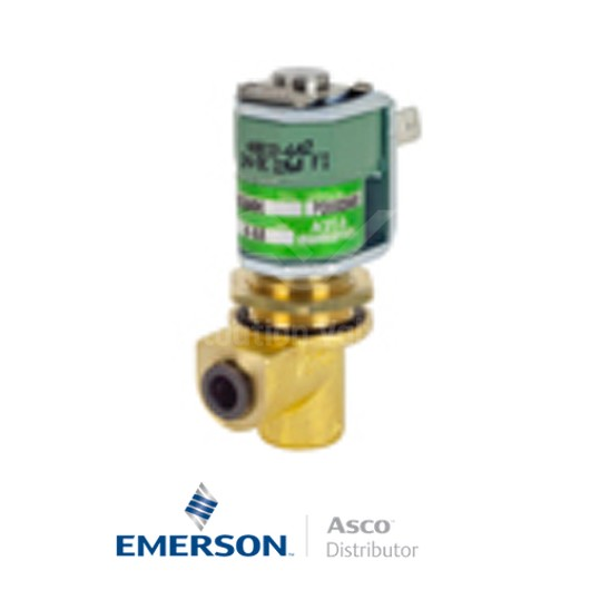 6MM Push-In USE257A002 Asco Numatics Dust Collector Solenoid Valves Direct Acting 24 VDC Stainless Steel
