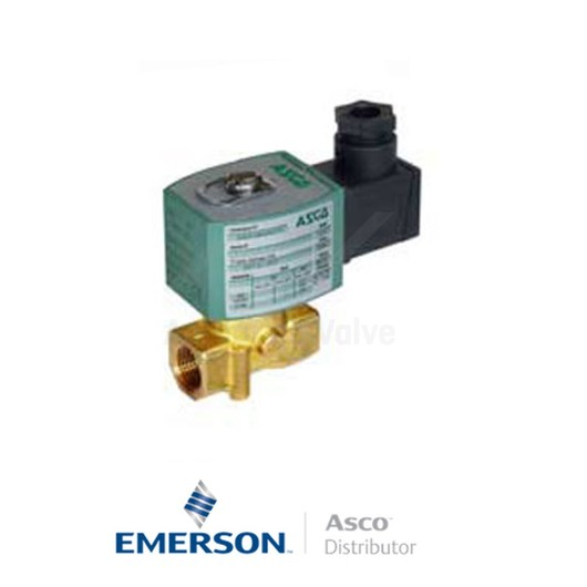 RP 7/1 E262K090S2N00F8 Asco General Service Solenoid Valves Direct Acting 230 VAC Stainless Steel