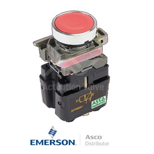 4MM Push-In30701015 Asco Numatics Miniature Solenoid Valves Push Button
