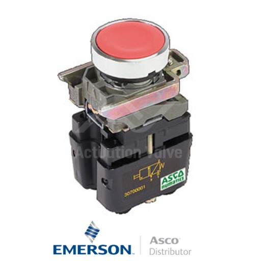 4MM Push-In30701006 Asco Miniature Solenoid Valves Push Button